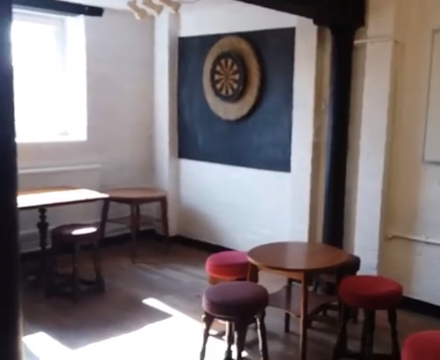 Granary Bar darts board